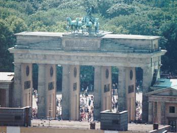 Bild von Berlin Brandenburger Tor
